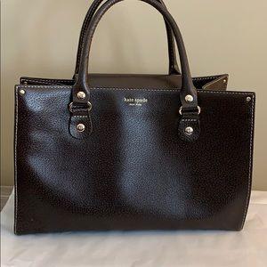 EUC! Brown Leather Kate Spade Bag